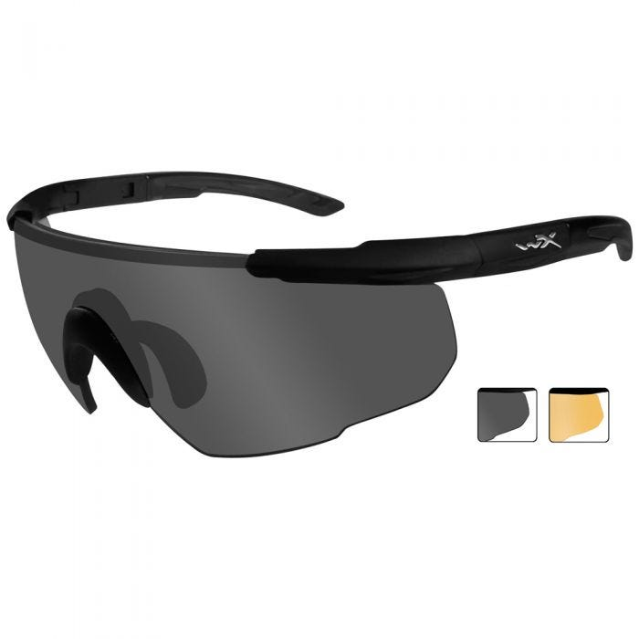 Gafas Wiley X Saber Advanced con lentes ahumadas + naranja claro y montura en negro mate