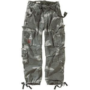 Pantalones Surplus Airborne Vintage en Night Camo
