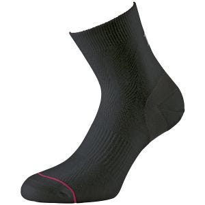Calcetines cortos 1000 Mile Ultimate Tactel en negro