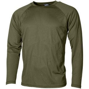 Camiseta interior MFH US Level I Gen III en OD Green