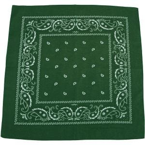 Bandana MFH de algodón en OD Green