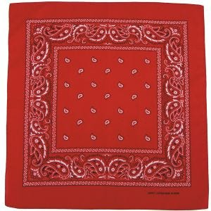 Bandana MFH de algodón en rojo