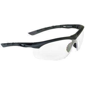Gafas de sol Swiss Eye Lancer con lentes transparentes y montura de goma en negro
