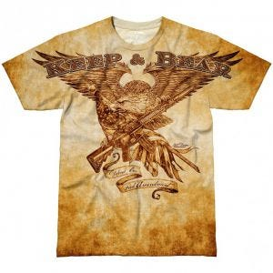 Camiseta 7.62 Design Keep & Bear en Natural
