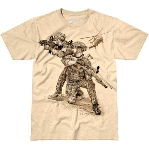 Camiseta 7.62 Design Compromised Extract en Sand