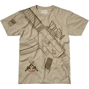Camiseta 7.62 Design Get Some en Sand