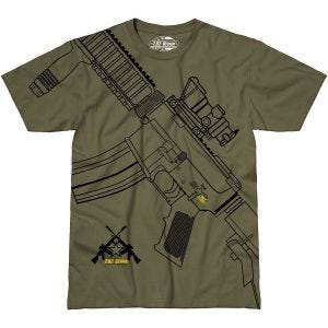 Camiseta 7.62 Design Get Some en Military Green