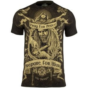 Camiseta 7.62 Design Prepare For War en negro