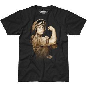 Camiseta 7.62 Design Sergeant Sara en negro