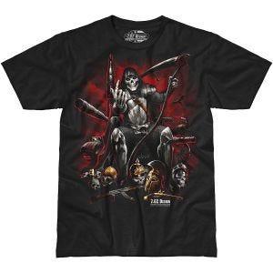 Camiseta 7.62 Design Warlord en negro