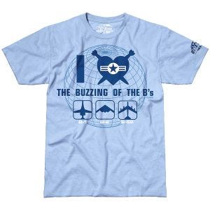 Camiseta 7.62 Design The Buzzing of the B's en Sky Blue