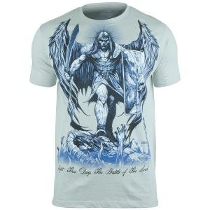 Camiseta 7.62 Design St Michael Fight This Day en Pewter