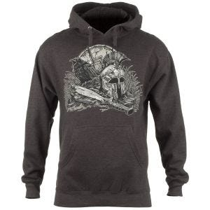 Sudadera con capucha 7.62 Design With Your Shield en Charcoal Heather