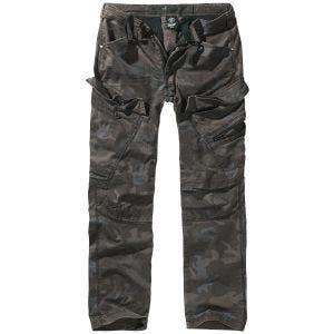 Pantalones ajustados Brandit Adven en Dark Camo
