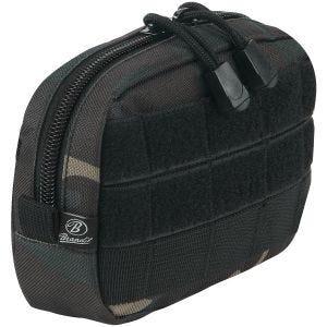 Bolsa compacta Brandit con sistema MOLLE en Dark Camo