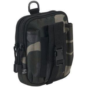 Bolsa funcional Brandit con sistema MOLLE en Dark Camo