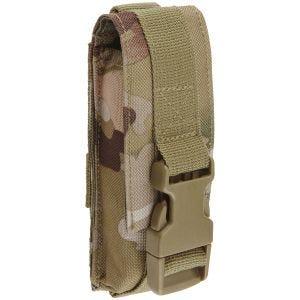 Funda multiusos mediana Brandit con sistema MOLLE en Tactical Camo