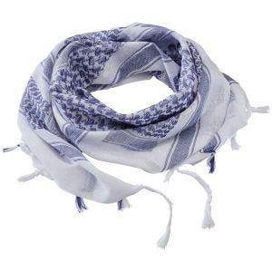 Pañuelo palestino Brandit en azul / blanco