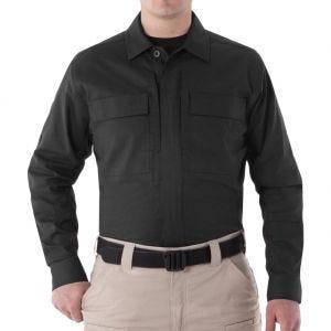 Camiseta de manga larga para hombre BDU First Tactical V2 en negro