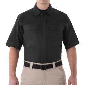 Camiseta de manga corta para hombre BDU First Tactical V2 en negro