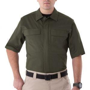 Camiseta de manga corta para hombre BDU First Tactical V2 en OD Green