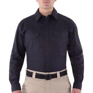 Camiseta táctica de manga larga para hombre First Tactical V2 en Midnight Navy
