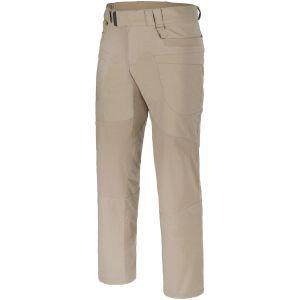 Pantalones tácticos de Ripstop de polialgodón Helikon Hybrid en caqui