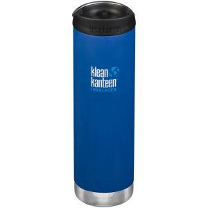 Botella térmica Klean Kanteen TKWide con tapa para beber de 591ml en Deep Surf