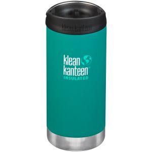 Botella térmica Klean Kanteen TKWide con tapa para beber de 355ml en Emerald Bay