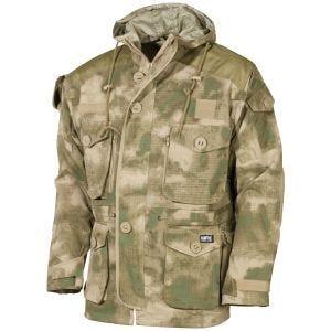 Chaqueta guardapolvo MFH Commando en HDT Camo FG