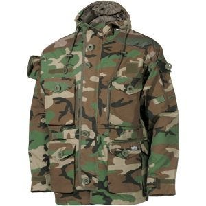Chaqueta guardapolvo MFH Commando en Woodland