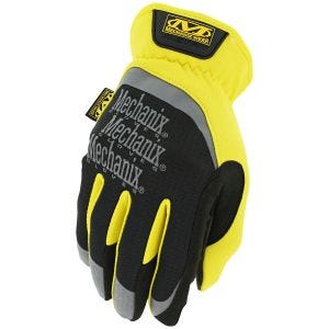 Guantes Mechanix Wear FastFit en amarillo