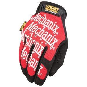 Guantes Mechanix Wear The Original en Rojo