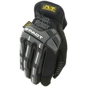 Mechanix Wear M-Pact Open Cuff Gloves Black/Grey