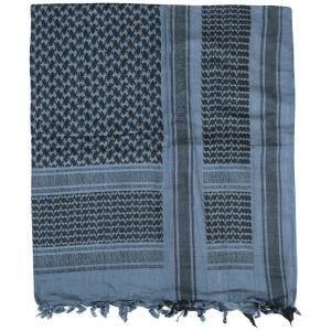 Pañuelo palestino Mil-Tec en azul / negro