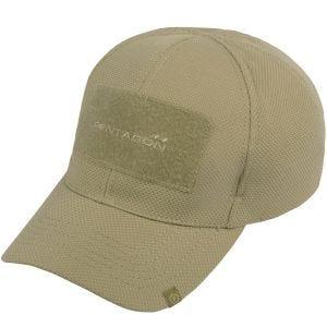 Gorra de béisbol Pentagon Nest en caqui