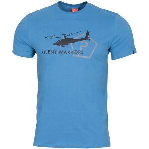 Camiseta Pentagon Ageron Helicopter en Pacific Blue