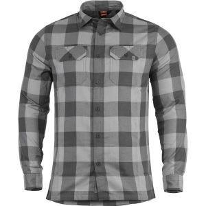 Camisa de manga larga Pentagon Drifter de franela en WG Checks