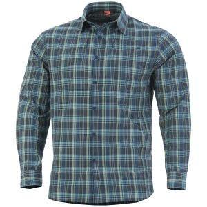 Camisa táctica Pentagon QT en Blue Checks