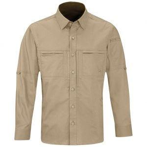 Camisa de manga larga para hombre Propper HLX en caqui