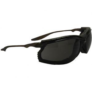 Gafas de sol Swiss Eye Sandstorm con lentes ahumadas y montura en negro