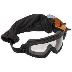 Gafas Swiss Eye G-Tac con lentes ahumadas + naranjas + transparentes y montura de goma en negro