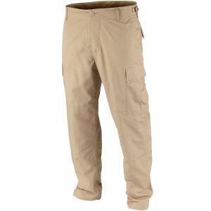 Pantalones Teesar BDU de Ripstop en caqui