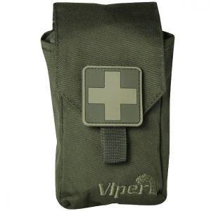 Set de primeros auxilios Viper en verde