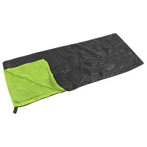 Saco de dormir Yellowstone Essential Envelope en negro / lima