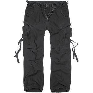 Pantalones Brandit M-65 Vintage en negro