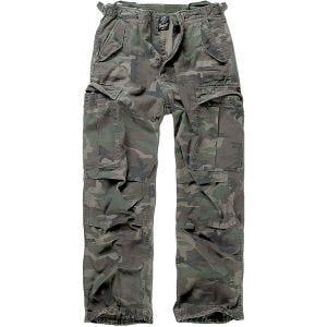 Pantalones Brandit M-65 Vintage en Woodland