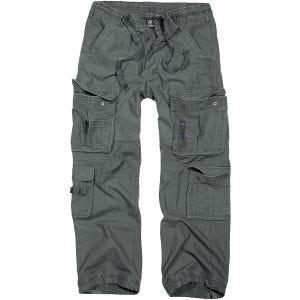 Pantalones Brandit Pure Vintage en Anthracite