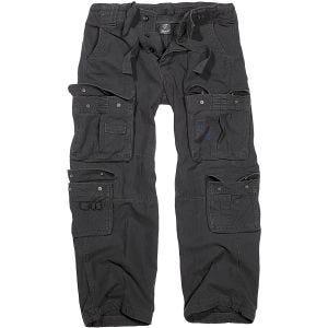 Pantalones Brandit Pure Vintage en negro