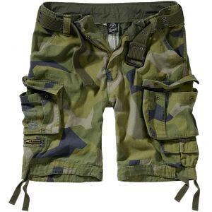 Pantalones cortos Brandit Savage Vintage en Swedish Camo M90